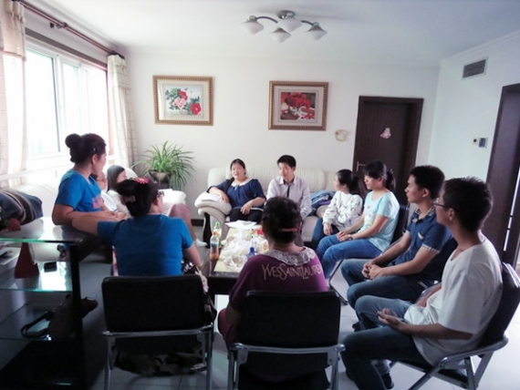 Jubilee China Chorus Team Weekly Fellowship Continues