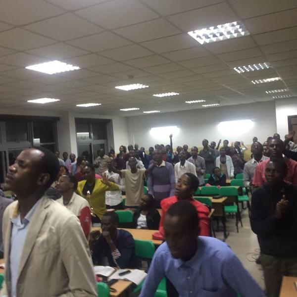 Jubilee Music Rwanda Held an Outreach at University of Rwanda