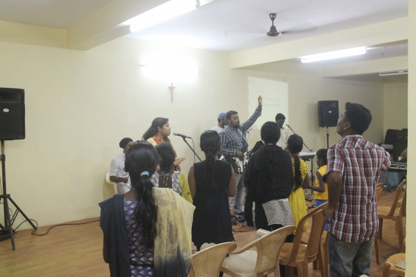 Jubilee India praise and worship night