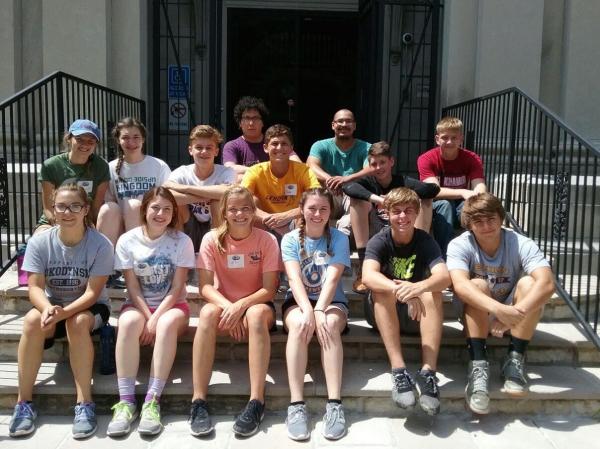Youth Work Volunteers & Jubilee staffs