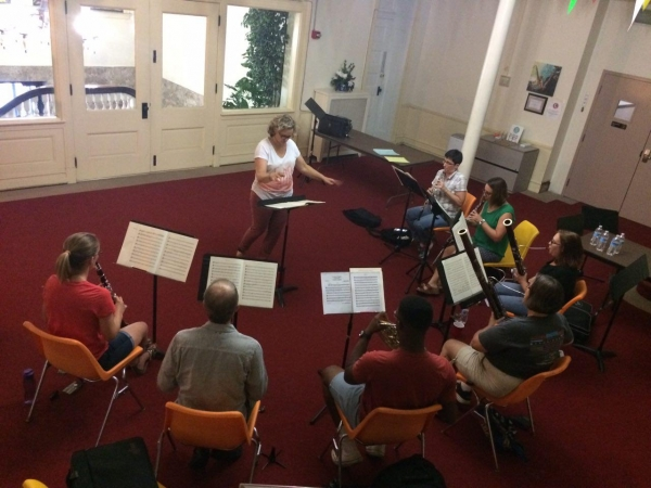 Wind Orchestra St. Louis Commence Rehearsals for General Assembly Concert