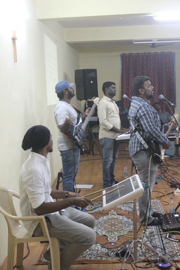 Jubilee Chennai event practice