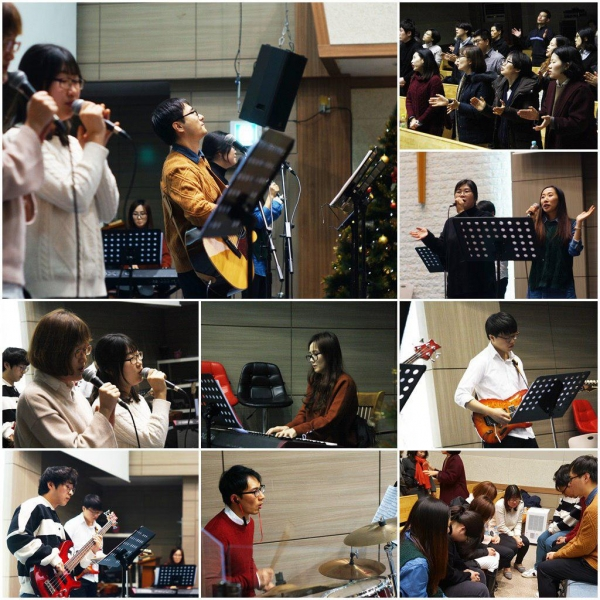 Jubilee Korea Shares Powerful Praise Atmosphere through Weekly Gathering