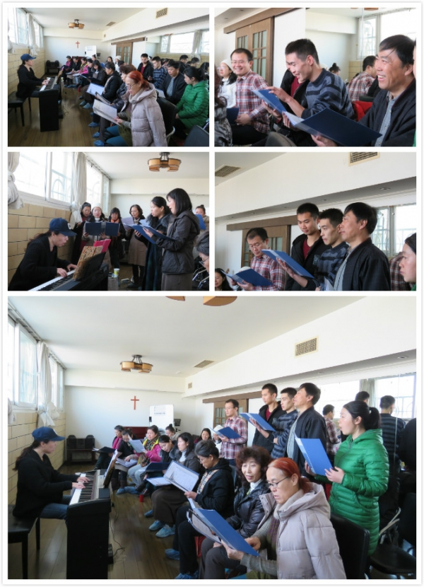 Jubilee Beijing Chorus Team Rehearsal Continues For Christmas Concert