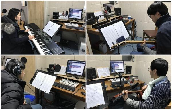 ubilee Worship Korea Finished Instrumental Recording for First Digital 2018 Album