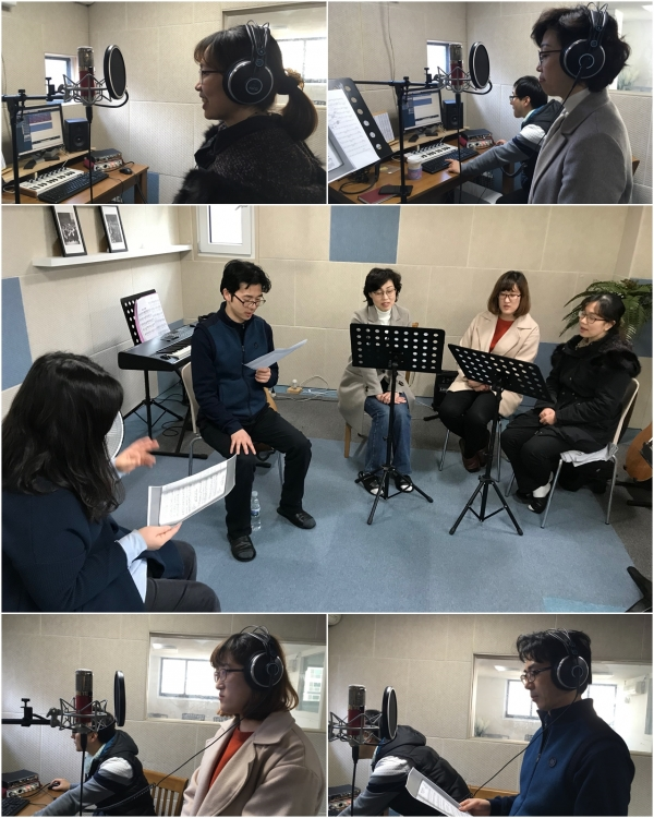Jubilee Chorus Korea Starts a meeting for 'Hymn Recording Project' '