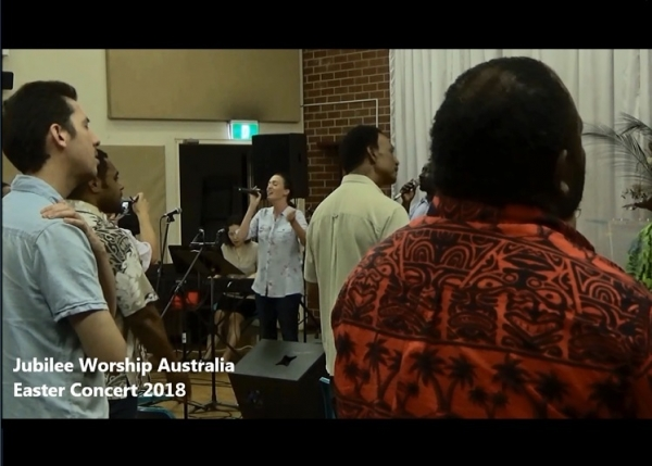 Jubilee Worship Australia Releases Easter Concert Video