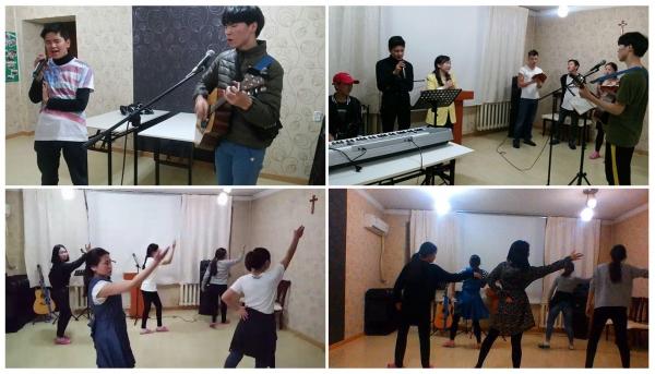 Jubilee Mongolia Prepares Pentecost Worship Night
