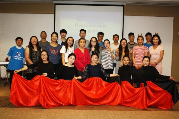 Jubilee Mongolia Held Pentecost Worship in Grace