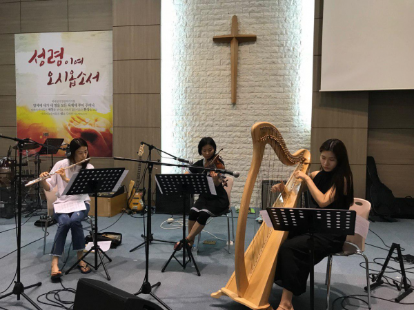 Jubilee Orchestra Holds First Rehearsal Before Summer Retreat