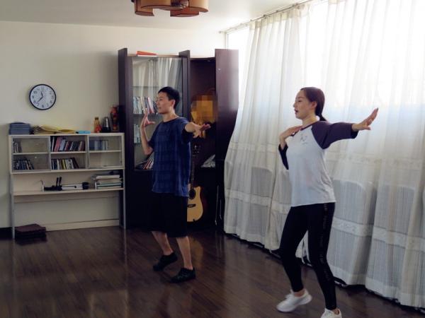 Jubilee China Rehearsals Original Dance on Thursday