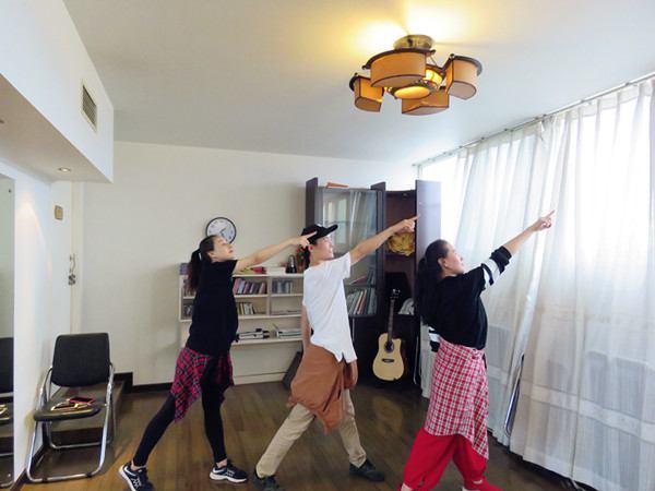 "Jubilee China finished first original gospel street dance ""Jubilee Year"""