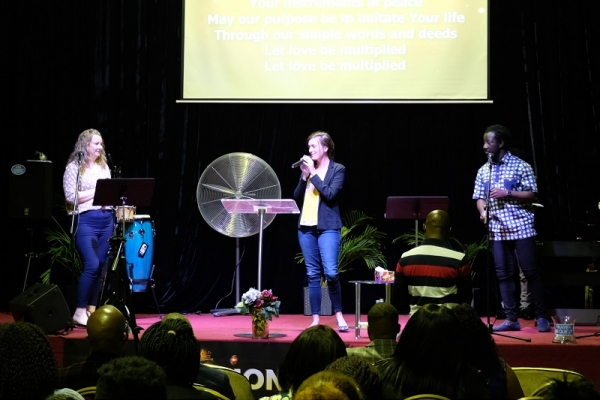 Jubilee Worship Australia Holds A Performance In The Christian Seminar