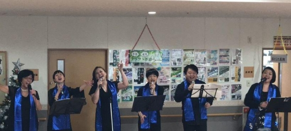 Jubilee Japan Concert Spreads Gospel and Joyfulness through Music at Nursing Home