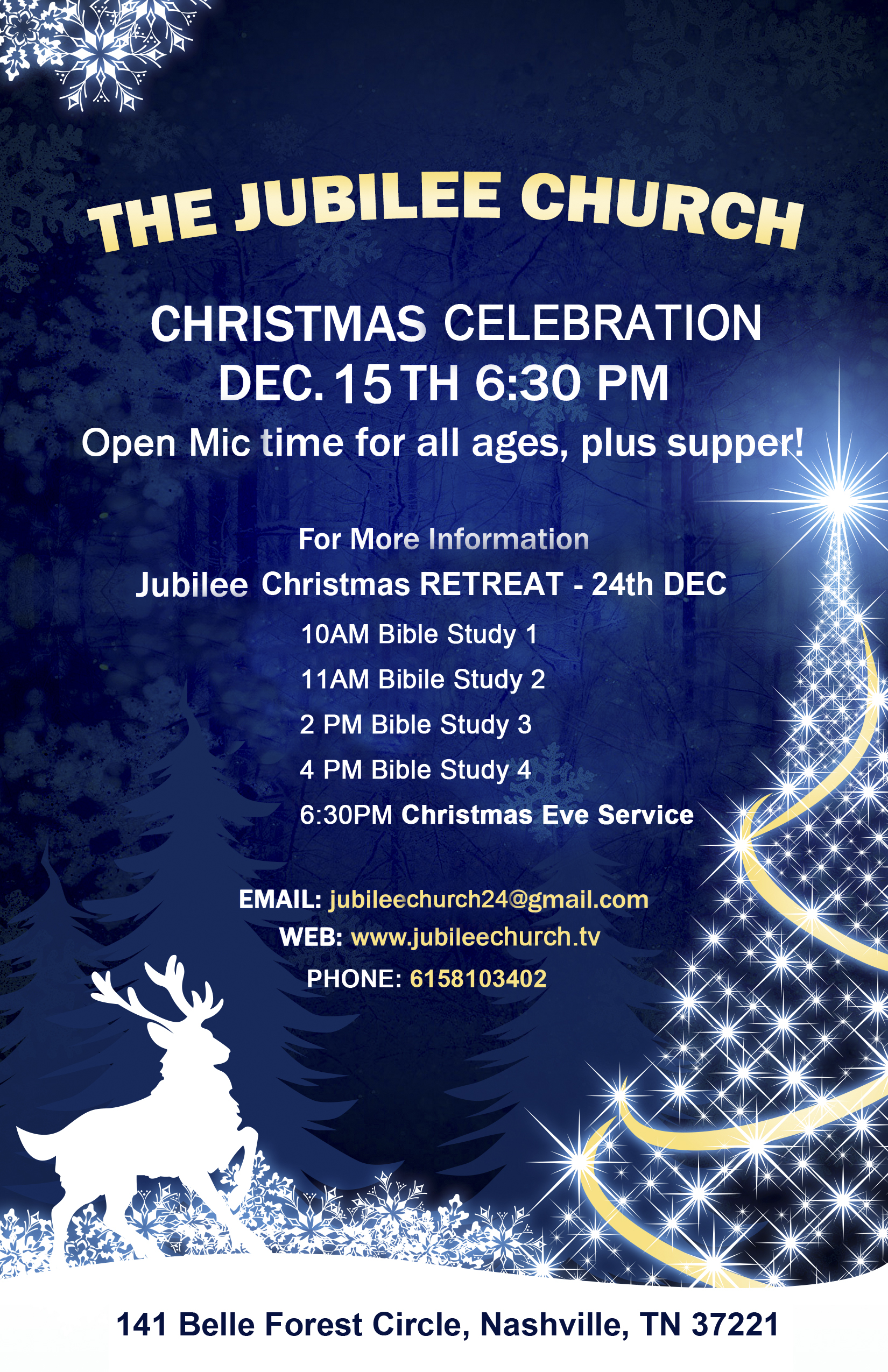 Jubilee church in nashville plans for christmas events for Jubilee parish